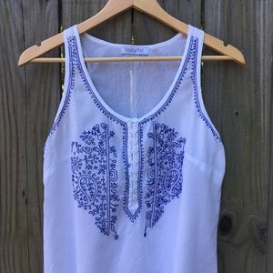 Patrons of Peace Tops - 🌻 Patrons of Peace Embroidered Tank